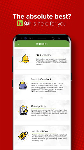 bigbasket- Online Grocery Shopping, Home Delivery screenshot 4