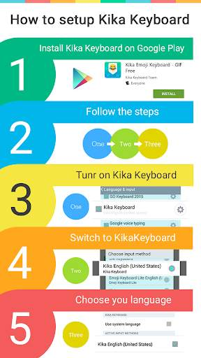 Dinosaur Kika Keyboard Theme screenshot 5