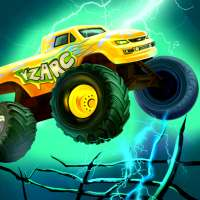 Mad Truck 2 -- physics monster truck hit zombie on 9Apps