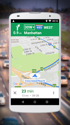 Navigation for Google Maps Go 1 تصوير الشاشة