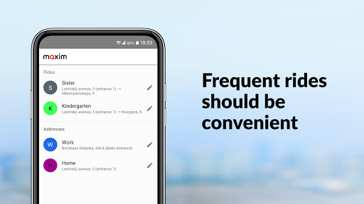 maxim — order taxi, food and groceries delivery screenshot 5