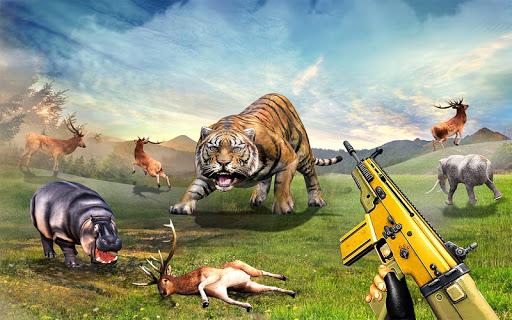 Wild Deer Hunter 3D :Wild Animal Shooting Games 2 تصوير الشاشة