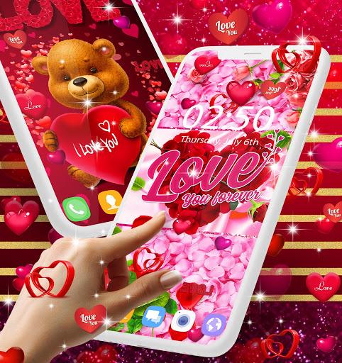 Love live wallpaper 1 تصوير الشاشة