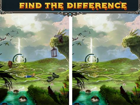 Spot the difference Forest- Find It 5 تصوير الشاشة