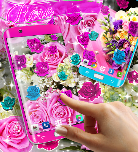 Best rose live wallpaper 2021 скриншот 8