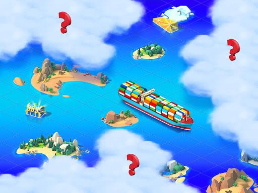 Sea Port: สร้าง Town & Ship Cargo ในซิม Strategy screenshot 4