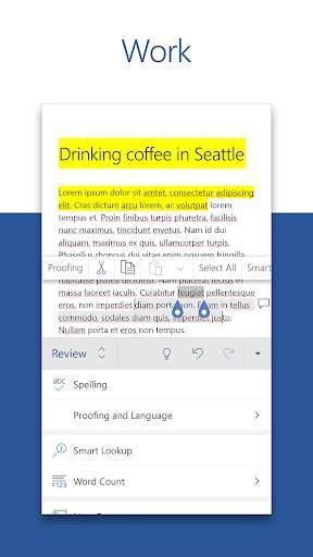 Microsoft Word: Write, Edit & Share Docs on the Go screenshot 3