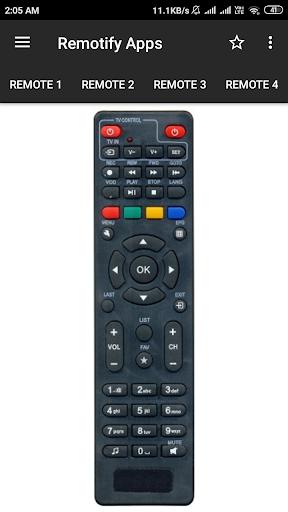GTPL Remote Control (15 in 1) screenshot 1