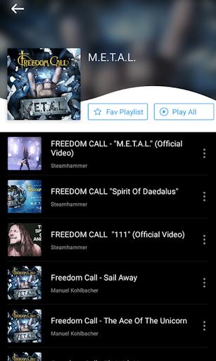 Free Music:offline music&mp3 player download free screenshot 4