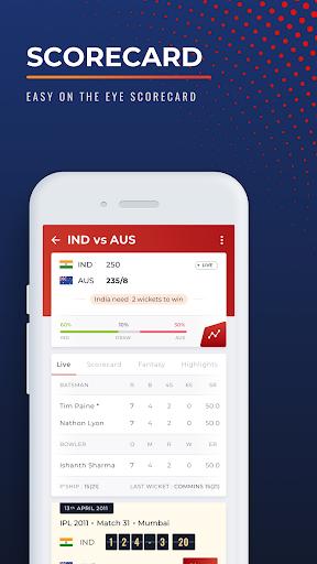 Cricket.com - Live Score, Match Predictions & News screenshot 6