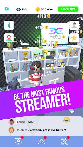 Idle Streamer! 1 تصوير الشاشة