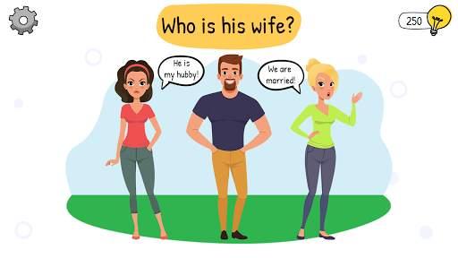 Who is? Brain Teaser & Riddles स्क्रीनशॉट 1