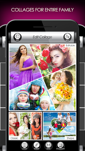 Flowers Photo Editor: Frames, Stickers & Collage screenshot 7