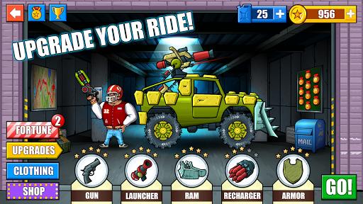 Mad Day - Truck Distance Game 3 تصوير الشاشة