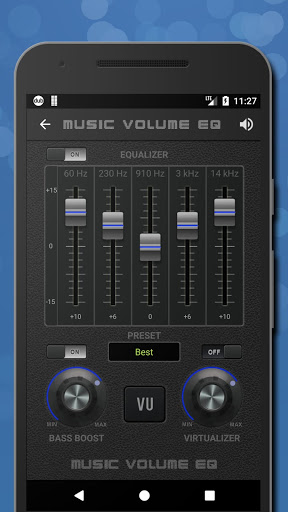 Music Volume EQ — Equalizer Bass Booster Amplifier 2 تصوير الشاشة