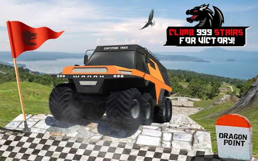 Cruiser Car Stunts: Dragon Road Driving Simulator screenshot 17