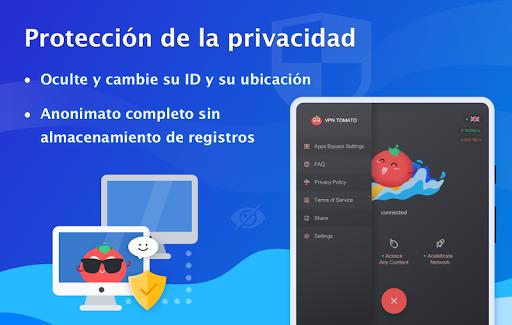 VPN Tomato gratis | Veloz proxy VPN hotspot gratis screenshot 10