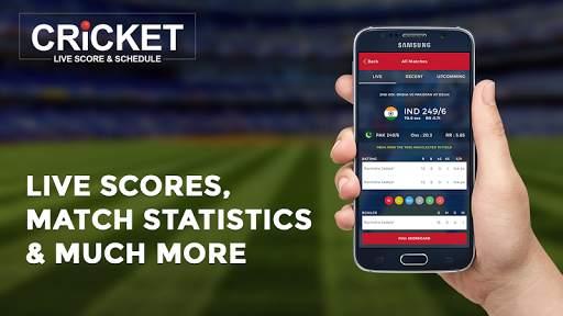 Cricket Live Score & Schedule 4 تصوير الشاشة