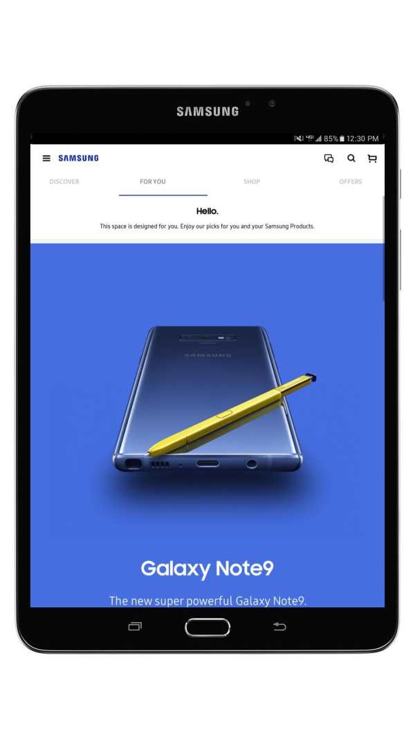 Samsung Shop screenshot 10