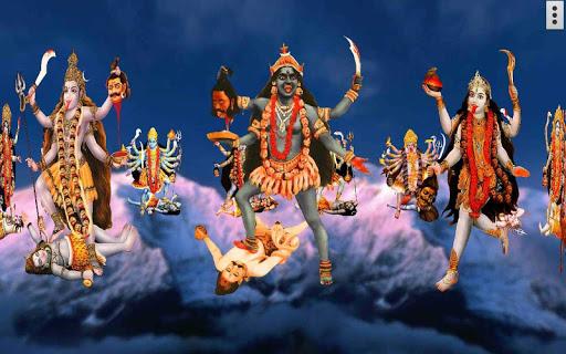 4D Maa Kali Live Wallpaper 17 تصوير الشاشة