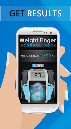 Weight Finger Scanner Prank 12 تصوير الشاشة
