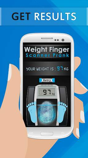 Weight Finger Scanner Prank screenshot 5