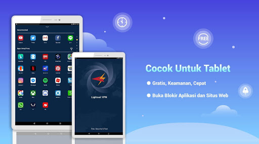 Free VPN Lightsail | Ultra Fast & Better VPN Proxy screenshot 7