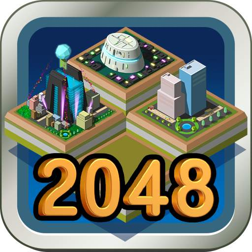 Galaxy of 2048 : Space City Construction Game