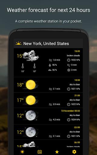 الطقس لمدة 16 يوما 12 تصوير الشاشة
