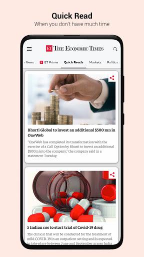 The Economic Times: Sensex, Market & Business News 2 تصوير الشاشة