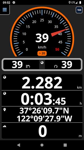 Speedometer analog, digital with odometer and HUD screenshot 1
