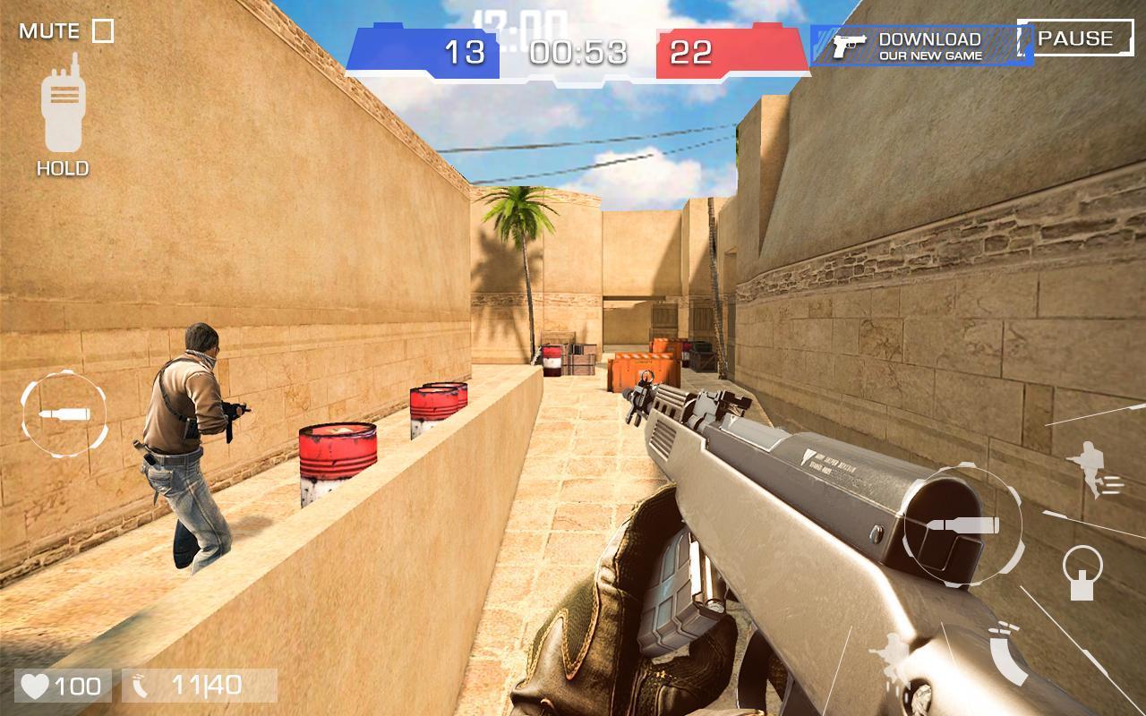 Critical Strike Shoot Battleground 4 تصوير الشاشة