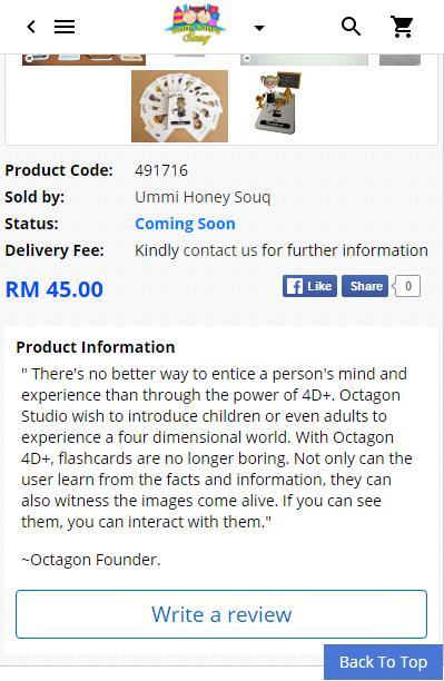Ummi Honey Souq - Educational Material screenshot 4