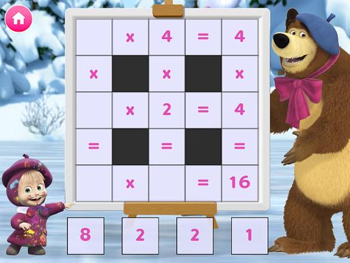 Masha and the Bear. Educational Games screenshot 7