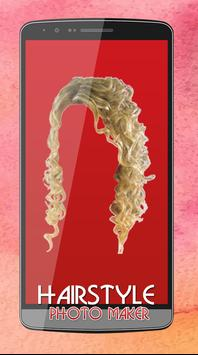 Women Hair Style Photo Editor screenshot 5