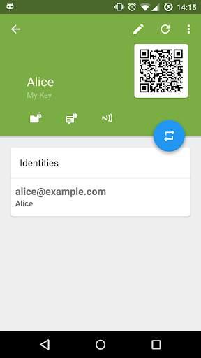 OpenKeychain: Easy PGP screenshot 4