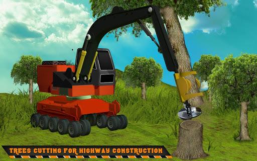 Highway Construction Road Builder 2020- Free Games screenshot 2