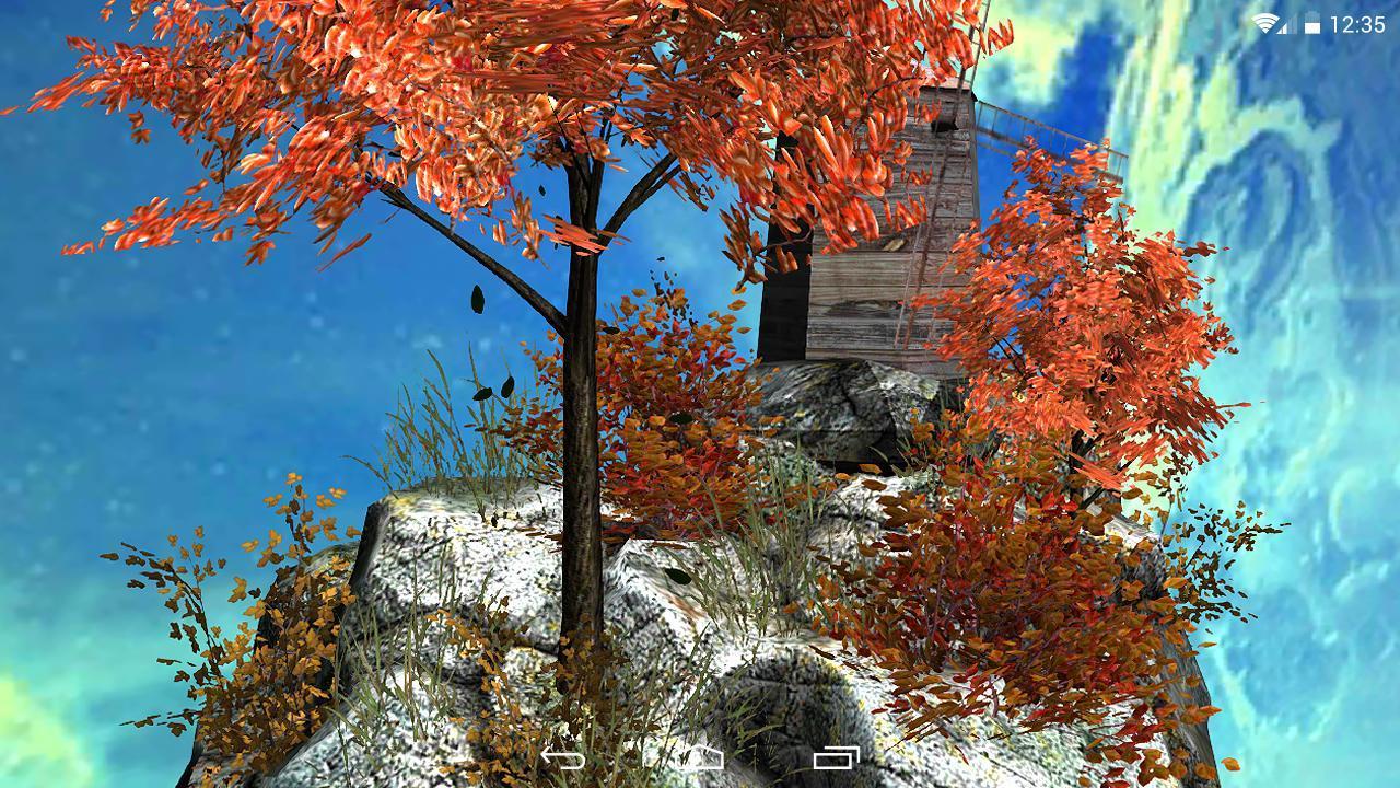 Fly Island Free 3D LWP screenshot 7
