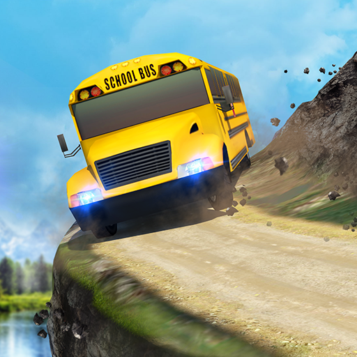 School Bus: Up Hill Driving icon