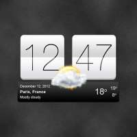 Sense V2 Flip Clock & Weather on APKTom