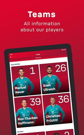 FC Bayern München - football news & live scores 13 تصوير الشاشة