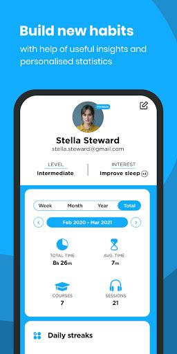 The Mindfulness App: relax, calm, focus and sleep 6 تصوير الشاشة