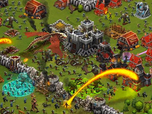 Throne Rush 10 تصوير الشاشة