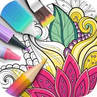 Garden Coloring Book on 9Apps