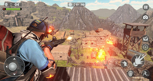 Free Firing Commando - Counter Attack FPS 2019 screenshot 4