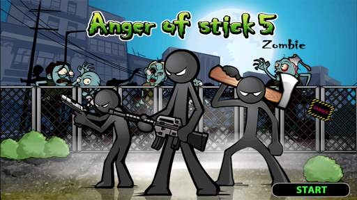 Anger of stick 5 : zombie screenshot 1