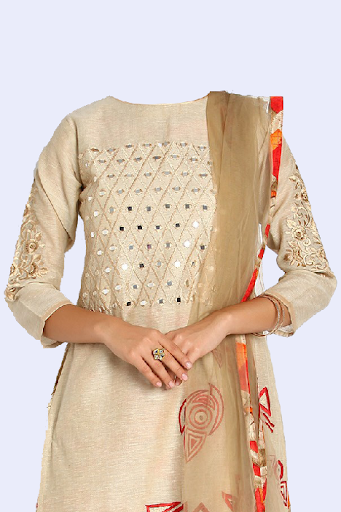 Salwar Suit Photo Making screenshot 5