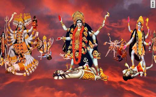 4D Maa Kali Live Wallpaper 14 تصوير الشاشة
