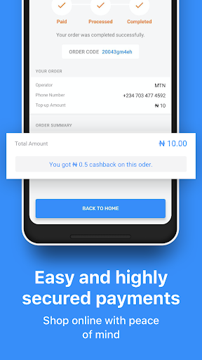 JumiaPay - Airtime & Bills screenshot 5
