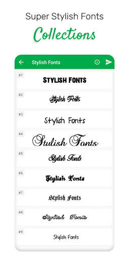 Stylish Fonts screenshot 3